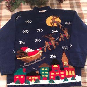 Vintage Karen Scott Christmas Sweater
